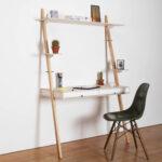 kompakter home office Tisch lean on desk von pamudesign